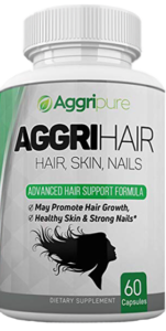 Aggrihair Contains Best Vitamins to Treat Thinning Hair