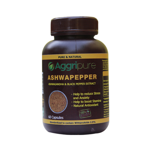 Performance Booster Ashwapepper Capsules | Best Capsules to Boost Performance | Performance Enhancement Premium Capsules Made with Ashwagandha Extract & Black Pepper Extract Blend | Take 2 Capsules Daily & Boost Performance