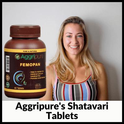 Aggripure's Shatavari Tablets, best Shatavari tablets