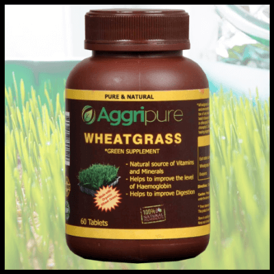 Aggripure's Wheatgrass Tablets, Best Wheatgrass Tablets
