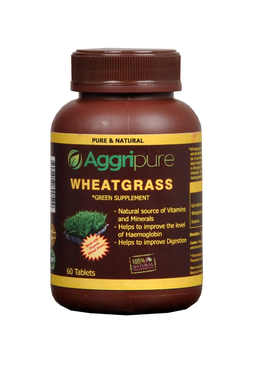 Boost Immunity Fast with Pure Wheatgrass Green Food Tablets