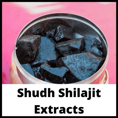 Shudh Shilajit Extracts