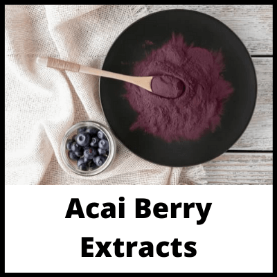 Acai Berry Extracts, Penis Growth Tablets