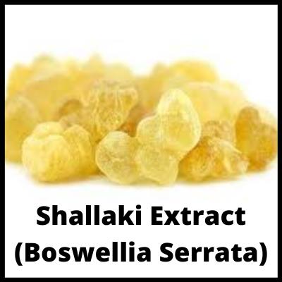 Shallaki Extract (Boswellia Serrata), Fat Burner Medicine