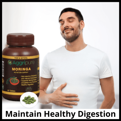 Maintain Healthy Digestion, Best Moringa Tablets