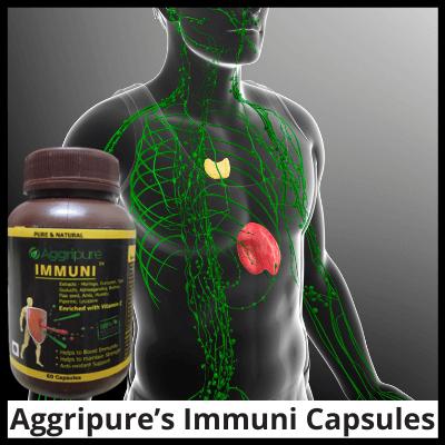 Aggripure's Immuni Capsules, Instant Immunity Booster Capsules