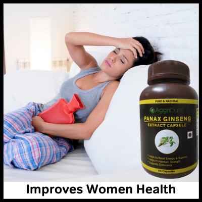 Improves Women Health, Best Panax Ginseng Supplement