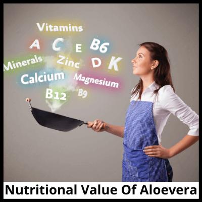 Nutritional Value Of Aloevera, Pure Aloevera Extract Capsules