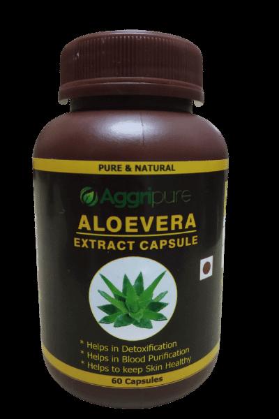 Pure Aloevera Extract Capsules
