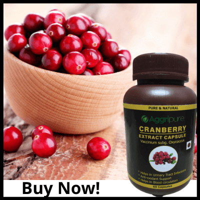 Buy Now!, Cranberry Capsules 300 Mg