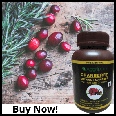Buy Now!, Cranberry Extract For UTI