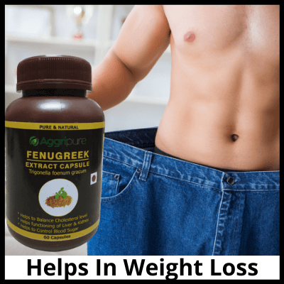 Helps In Weight Loss, Pure Fenugreek Extract Capsules