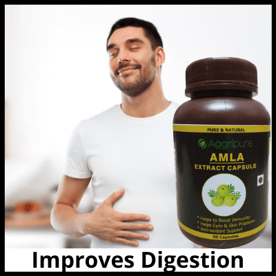 Improves Digestion, Pure Amla Extract Capsule