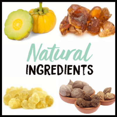 Ingredients, Triphala Extract Tablets