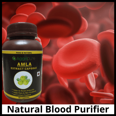 Natural Blood Purifier, Pure Amla Extract Capsule