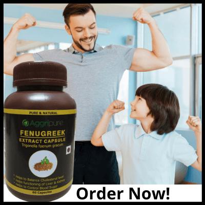 Order Now!, Pure Fenugreek Extract Capsules
