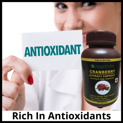 Rich In Antioxidants, Pure Cranberry Extract Capsules