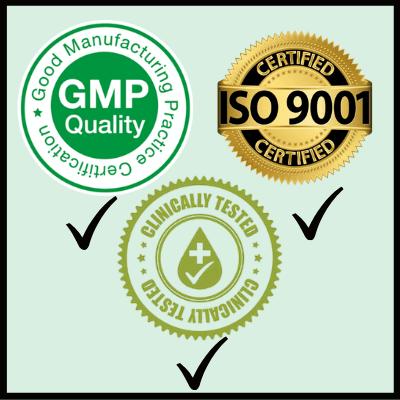 quality-standards, Gain Immunity Fast Herbal Capsules