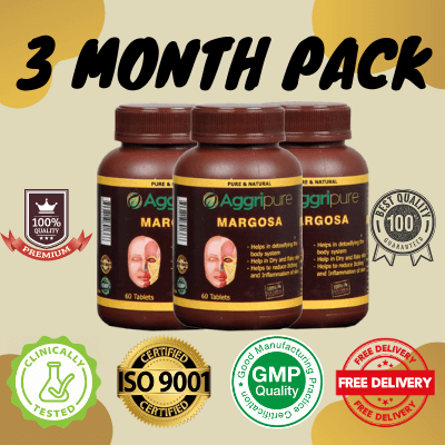 3 Month Pack margosa, Pure Neem Extracts Tablets