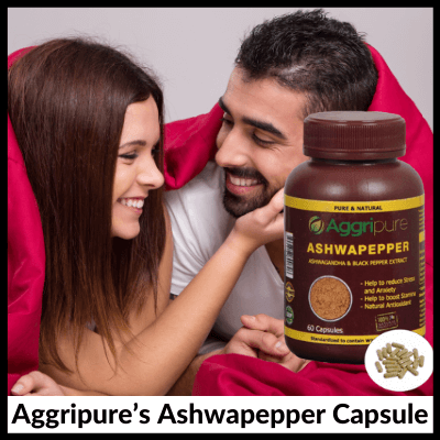 Aggripure's Ashwapepper Capsule, Men's Kit For Sexual Health Enhancement