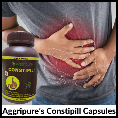 Aggripure's Constipill Capsules, Weight Loss Kit