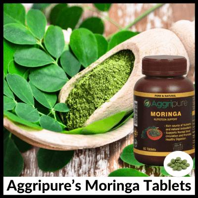 Aggripure's Moringa Tablets, Weight Loss Kit