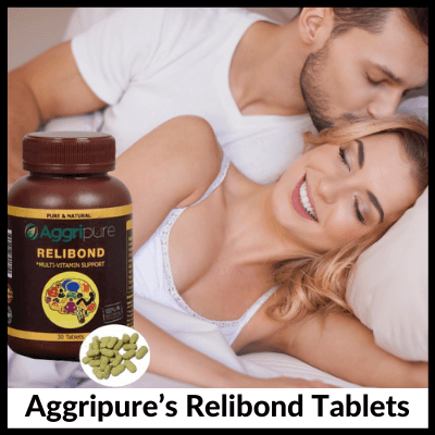 Aggripure's Relibond Tablets, Men's Kit For Sexual Health Enhancement