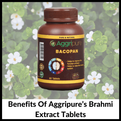 Benefits Of Aggripure's Brahmi Extract Tablets, Brahmi Extract Tablets