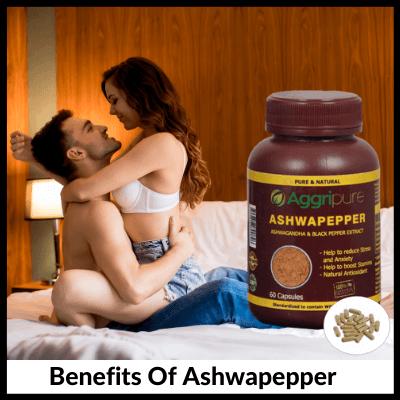 Benefits Of Ashwapepper, Ashwagandha Extract Capsules