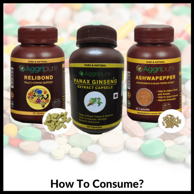 How To Consume, Man Supplements Kit For Endurance