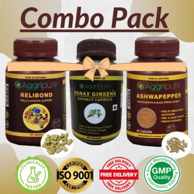 Man Supplements Kit For Endurance